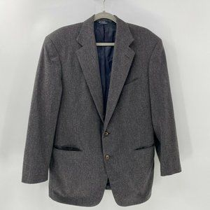 Polo Ralph Lauren wool flannel suit jacket USA 42R
